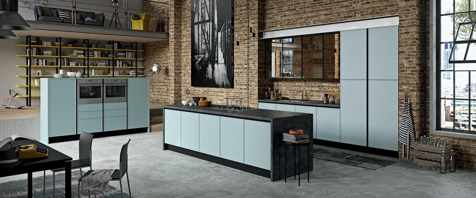 Aran cucina moderna cucine aran volare bergamo arredamenti di with aran cucina moderna gallery - Cucine lussuose moderne ...